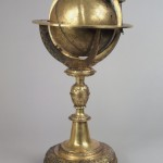 Globusuhr mit Himmelsglobus, Steyr, 1624