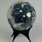 Mond-Reliefglobus, Pezance, 1970