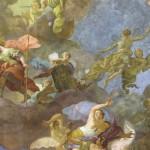 Deckengemälde Perseus & Medusa